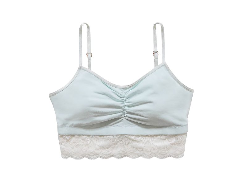 Astrid Jersey Bralette with Lace