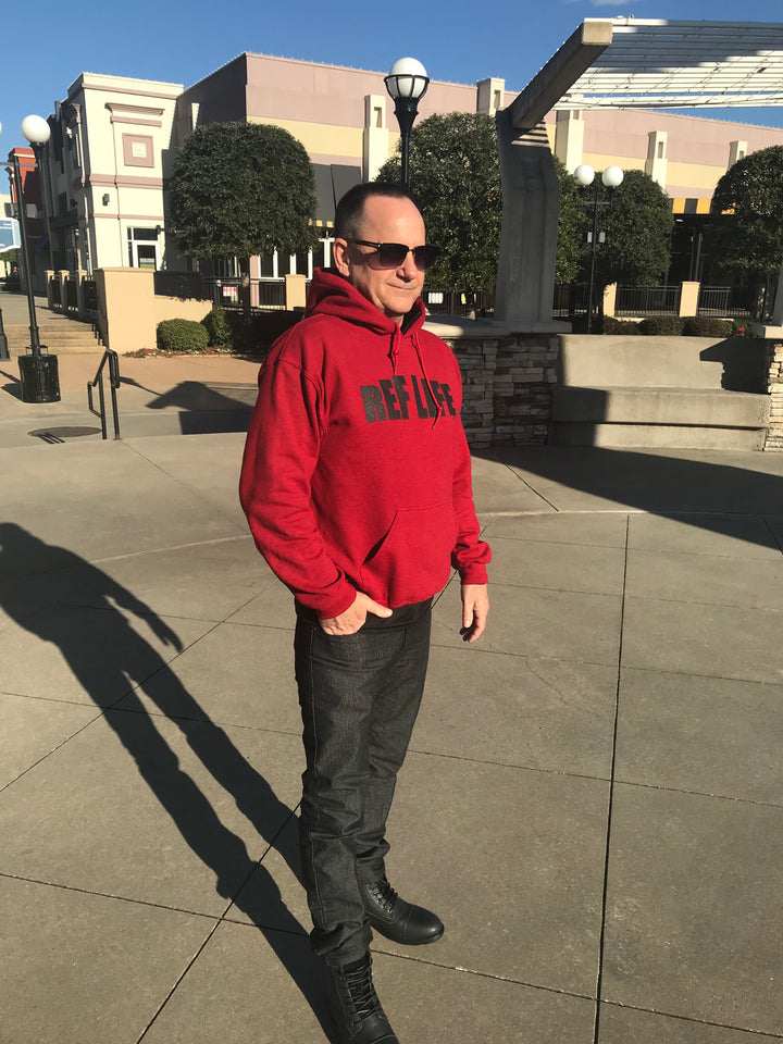 Ref Life Antique Red Hoodie