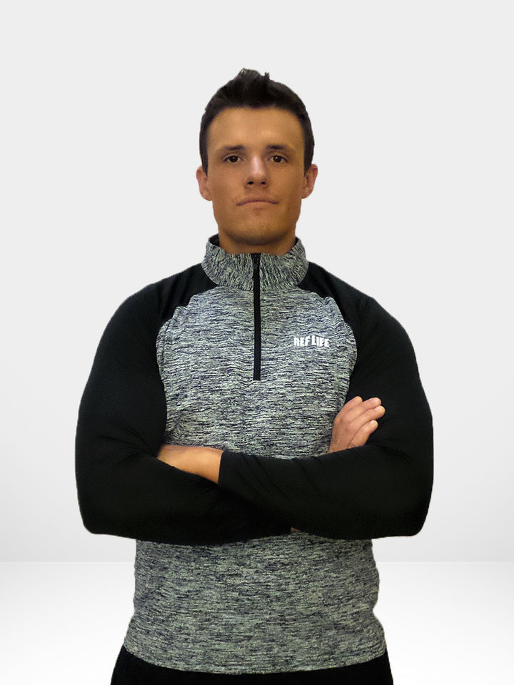 "Ref Life ""Digital Performance"" Quarter-Zip"