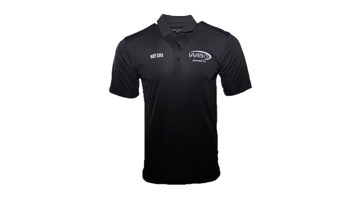 IAABO Board 27 - Ref Life Genesis Performance Polo
