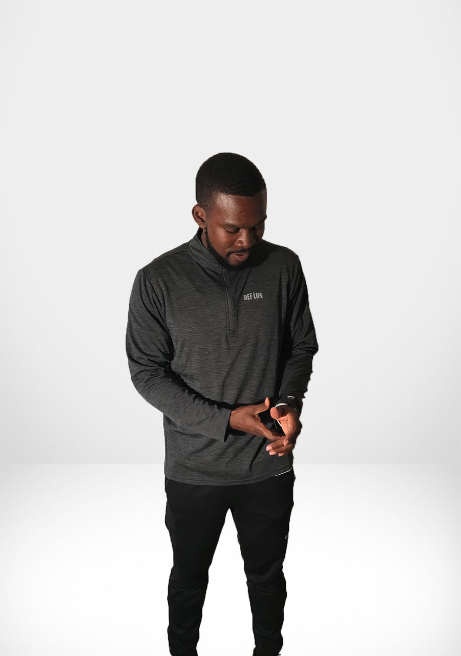 "Ref Life ""Stealth"" Quarter Zip"