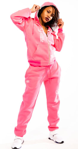 Pink Pretty Secure Jogger Set - Secure Cultures