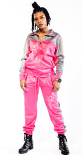 Load image into Gallery viewer, Pretty Secure Pink/Gray Windbreaker Set - Secure Cultures