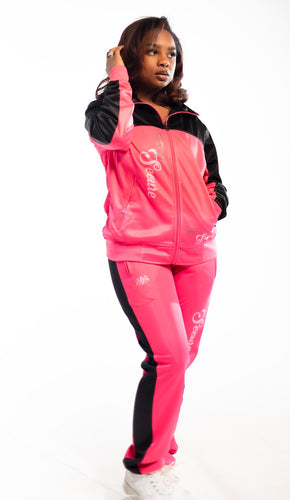 Pretty Secure Pink/Blk Windbreaker Set - Secure Cultures