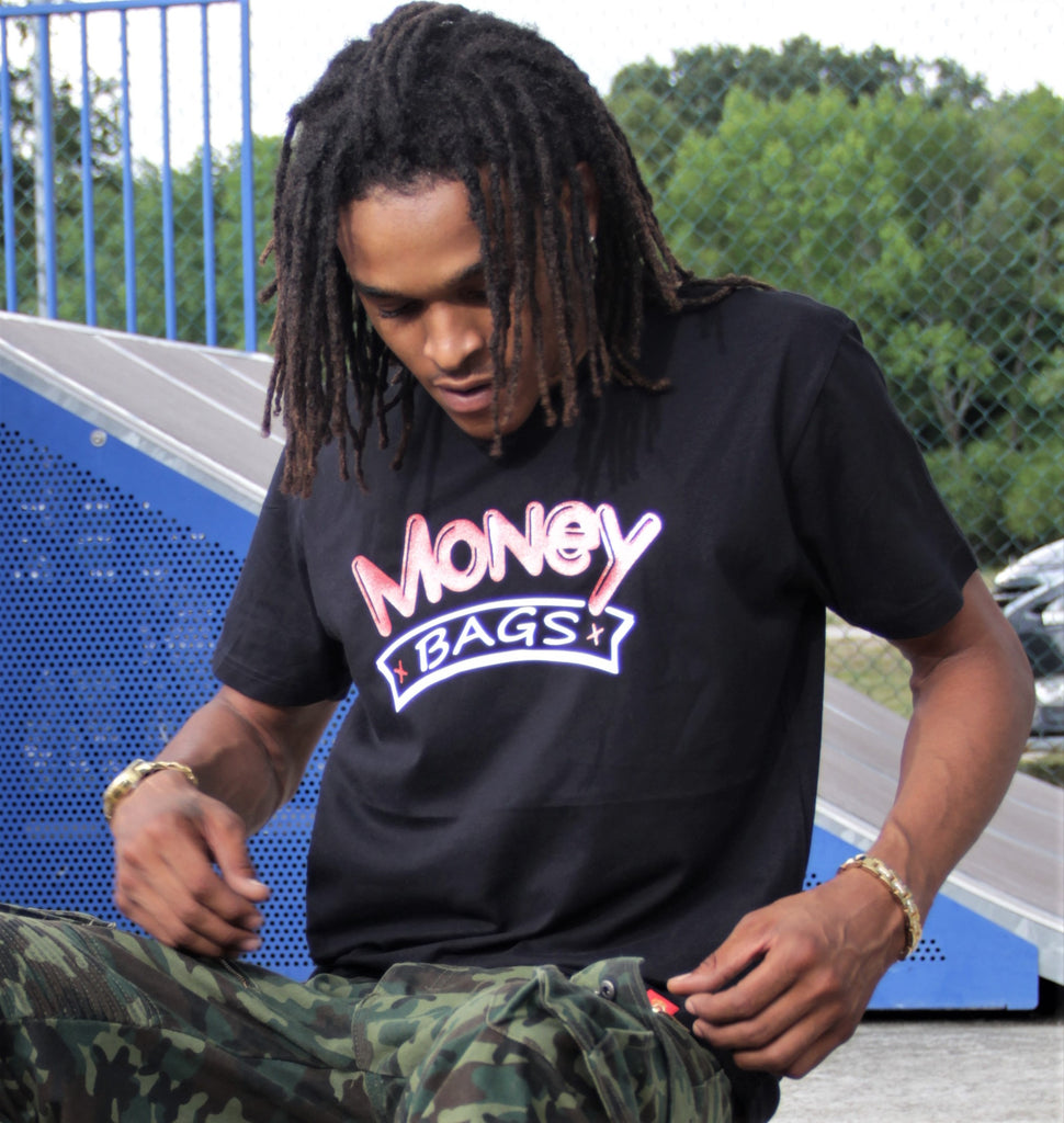 Money Bags Tee - Secure Cultures