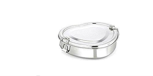 Stainless Steel Heart Shaped Lunch box - QUALWAYS LLC