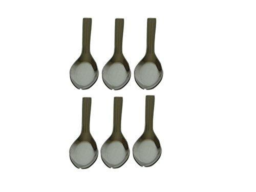 Stainless Steel Spice Seasoning Measuring Spoons Set Of 6 - QUALWAYS LLC