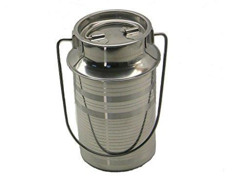 Stainless Steel 2 Quart Milk Can Tote - QUALWAYS LLC