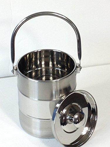 Stainless Milk Can Tote Model 2