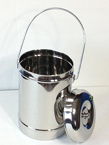 Stainless Steel 1.8 Quart Milk Can Tote Model 1