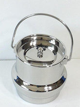 Stainless Steel 30 Oz Small Milk Can Tote - QUALWAYS LLC
