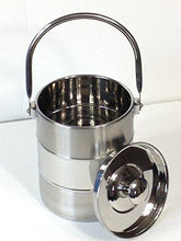 Stainless Milk Can Tote Model 2 - QUALWAYS LLC