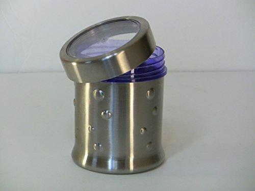 Stainless Steel 32 Oz Large Ripple Canister