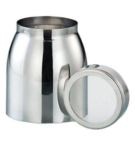 Stainless Steel 1.5 LB Pot Canister - QUALWAYS LLC