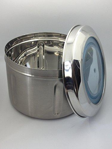 Stainless Steel 2 LB Canister