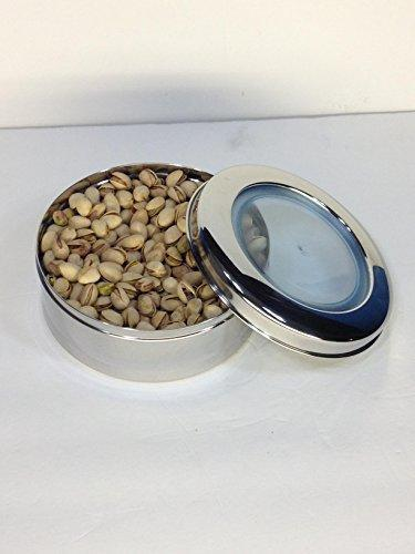 Stainless Steel 1 LB Container or Tin Or Canister