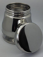 Stainless Steel 1 LB Jackpot Shaped Canister - QUALWAYS LLC