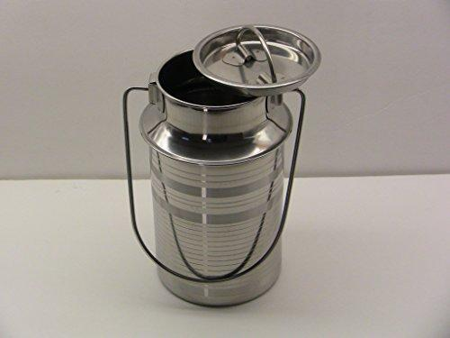 Stainless Steel 2 Quart Milk Can Tote