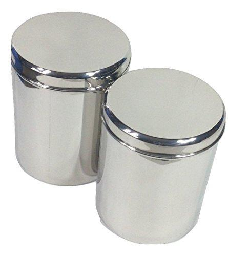 Merveilleux ... Jumbo Stainless Steel Kitchen Canister Set Of 2   QUALWAYS LLC