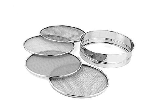 Stainless Steel 8.25 inch Mesh Sieve or Sifters - QUALWAYS LLC