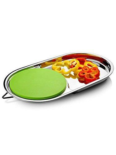 Stainless Steel 14.5 inch Vegetable Chopper - QUALWAYS LLC