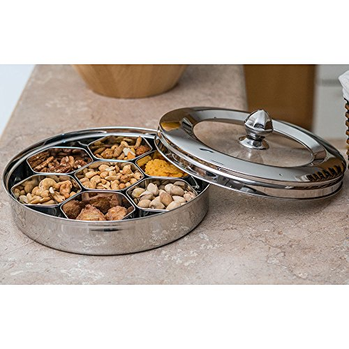 Qualways Stainless Steel Dry Fruit Container Model-1