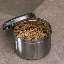 Stainless Steel 2 LB Canister - QUALWAYS LLC