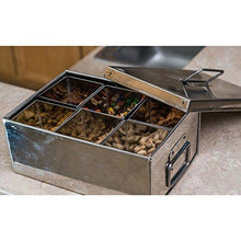 Stainless Steel All Purpose Divided Container - QUALWAYS LLC