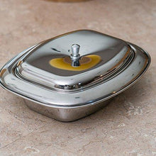 Stainless Steel Butter Dish With Lid - QUALWAYS LLC