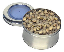 Stainless Steel 1.5 LB tin or Canister - QUALWAYS LLC