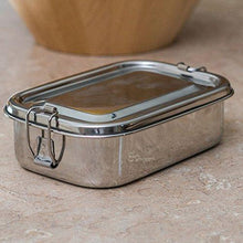 Stainless Steel Single Rectangle Lunch Box - QUALWAYS LLC