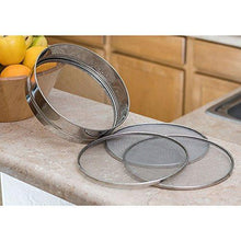 Stainless Steel 8.25 inch Mesh Sieve or Sifter - QUALWAYS LLC