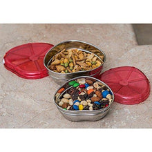 Heart Lid Stainless Steel Bowls Set of 2 - QUALWAYS LLC