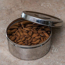 Stainless Steel Round Shaped Food Container - QUALWAYS LLC