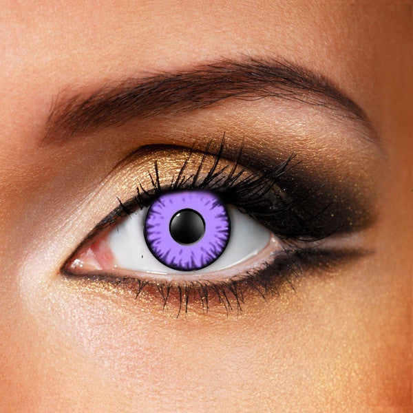 Purple Monster Eye Crazy Lenses Crazyangelens