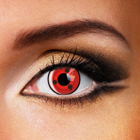 SHARINGAN - NARUTO LEVEL THREE CONTACT LENSES