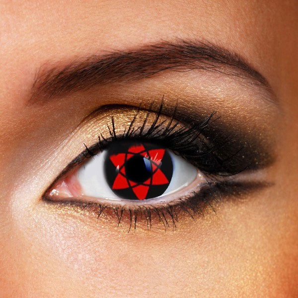 SHARINGAN  NARUTO HEXAGRAM CONTACT LENSES \u2013 CrazyAngelens
