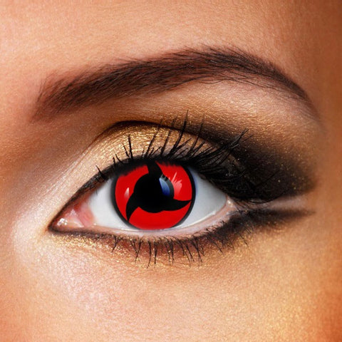 SHARINGAN MANGEKYOU- UCHIHA ITACHI CONTACT LENSES