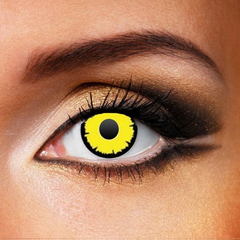 TWILIGHT YELLOW CONTACT LENSES