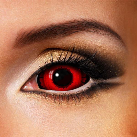 Angry Wolf Sclera Contact Lenses 22mm (New)