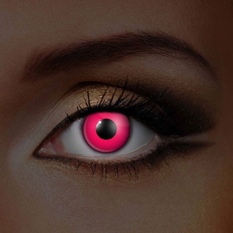 UV Pink Crazy Lenses