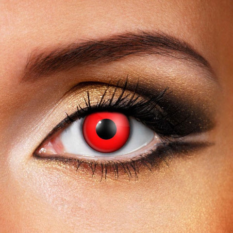 Red out VAMPIRE/ZOMBIE Crazy Lenses