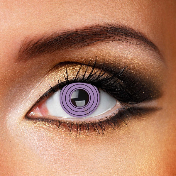 Sharingan Rinnegan Purple 14mm Contacts