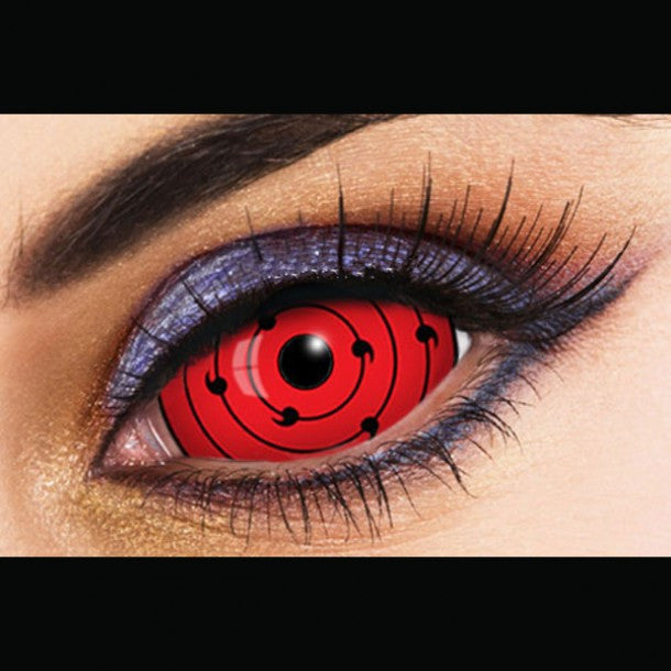 Beste SHARINGAN TEN TAILS WHITE SCLERA 22MM CONTACT LENSES – CrazyAngelens UX-63