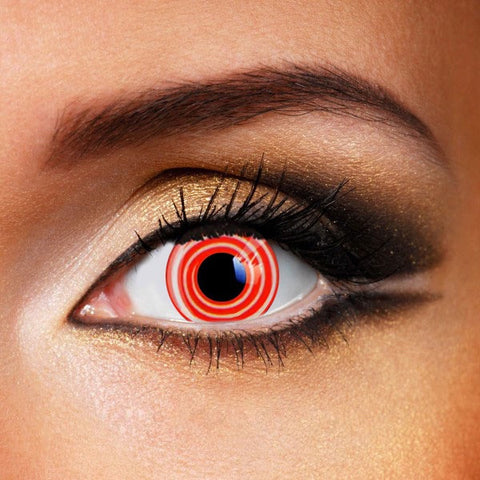 SHARINGAN RINNEGAN RED & WHITE CONTACT LENSES