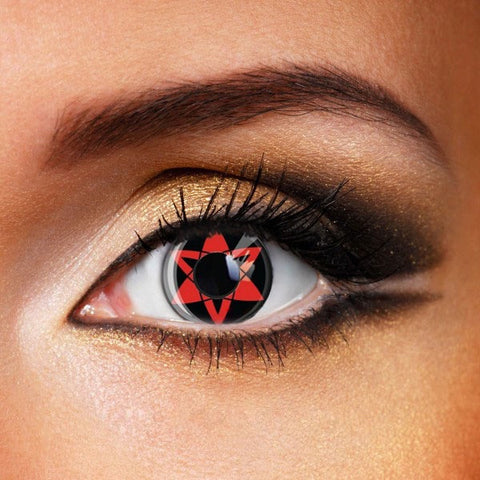 SHARINGAN-NARUTO & UCHIHA SASUKE CONTACT LENSES