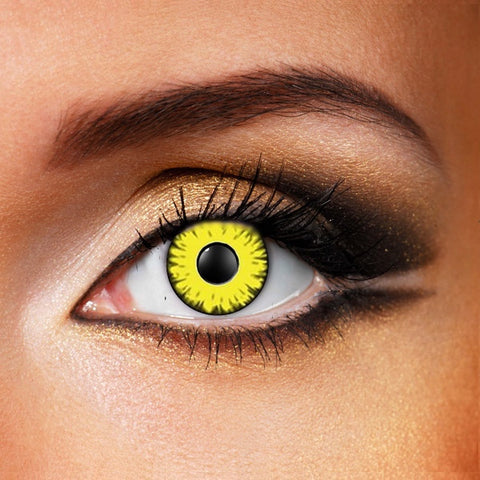 Yellow Monster Eye Crazy Lenses