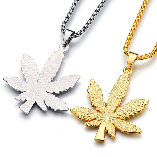 Hemp Leaf Necklace