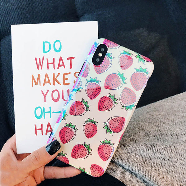 Metallic Fruit iPhone Case - SnackBarShop
