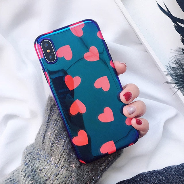 Multiple Heart iPhone Case - SnackBarShop